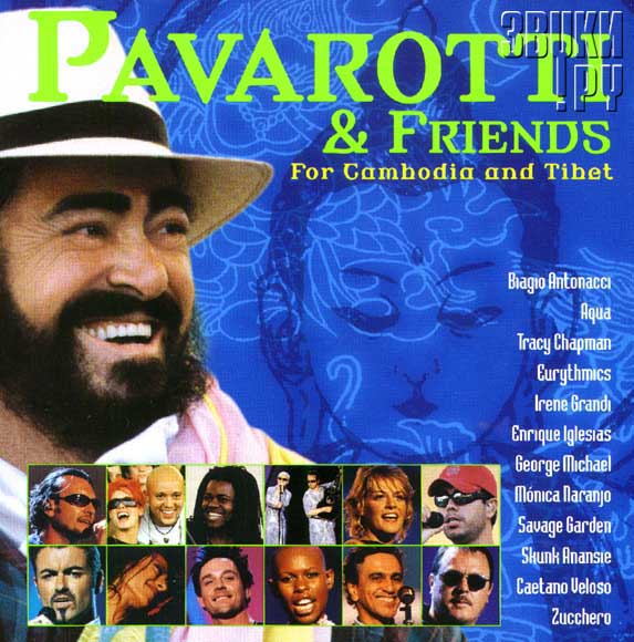 ОБЛОЖКА: Pavarotti & Friends For Cambodia And Tibet