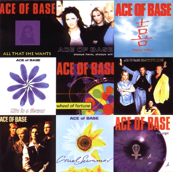 ОБЛОЖКА :: ACE OF BASE :: Singles Of The 90's