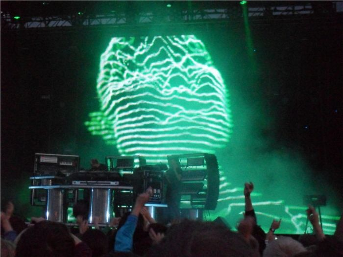 LCD Soundsystem and Chemical Brothers at Helsinki Suvilahti