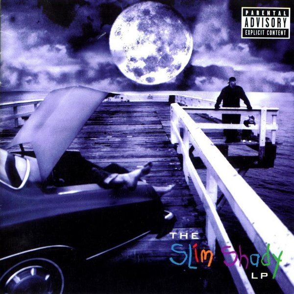 ОБЛОЖКА: The Slim Shady LP
