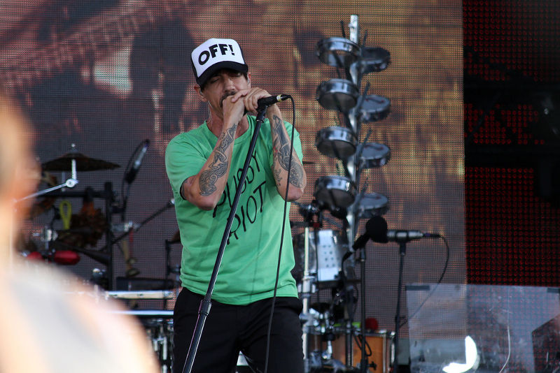 Red Hot Chili Peppers на фестивале Tuborg Greenfest