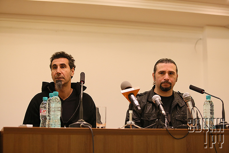SYSTEM OF A DOWN , Moscow - 2015