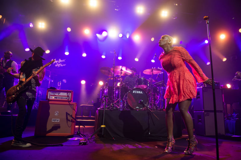 LIV WARFIELD AND THE NPG HORNZ