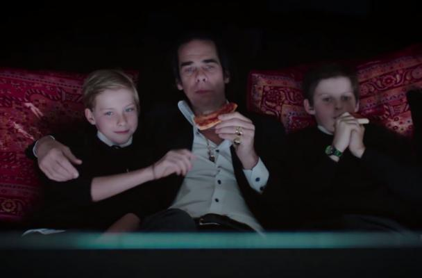 Nick Cave and sons