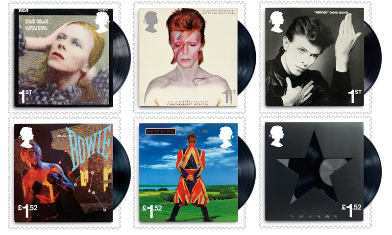 Bowie stamps