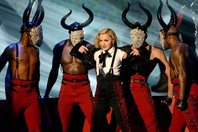Madonna in tour