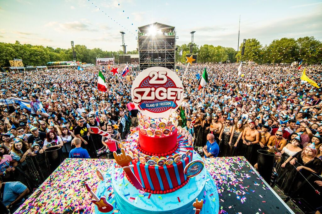 Happy Birthday, Sziget!