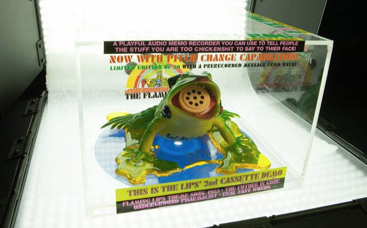 "The Flaming Lips ""2nd Cassette Demo"" frog box"